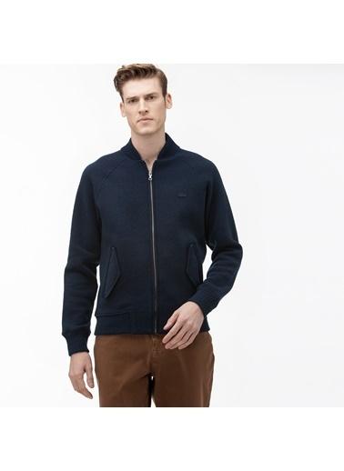 Lacoste Erkek Dik Yaka Sweatshirt SH8576.166 Lacivert
